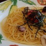 貴族の森 - 和風明太子のスパゲッティ