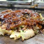 お好み焼き ほり - 料理写真:<2013年3月>カキオコ