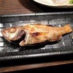 海鮮食道 十八番 - のど黒塩焼き