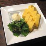 海鮮食道 十八番 - 出し巻き玉子(500円)