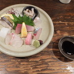 海鮮食堂 すいか - (2013/3/13)刺身の盛り合わせ