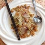 楓林閣 - 魚の中華風(はまち)