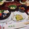 竹楽亭 - 料理写真:夕食