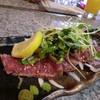 高見 - 料理写真:馬肉のタタキ