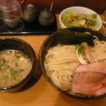 麺や 天啓 - 濃厚魚介つけ麺