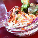 エベレスト キッチン - ランチのサラダ
