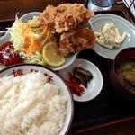 博陽軒 - 料理写真:唐揚げ定食