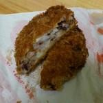 釜新肉店 - いかメンチ  100円