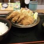 チキン亭 - ひれかつ定食