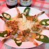 モンティー - 料理写真:2013.3 クン・チェー・ナンプラー(720円)海老のナンプラー漬け
