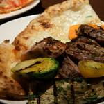 ピッツェリア パージナ - 6)牛肉と野菜のグリル