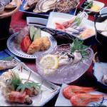 グリル五味 - 料理写真:宿泊プラン料理「牡蠣御膳プラン」