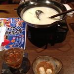 旬鮮台所 Zen - お通しの湯豆腐
