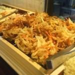 ひなた - トッピング用の天ぷら 明らかに分厚さがかわってる。