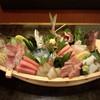 Tomikura - 料理写真:5000円お刺身舟盛(要予約)仕入で変ります。