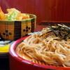 更科 - 料理写真:B、小天丼とざる蕎麦¥850-
