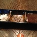 神戸炉釜工房 - ステーキのタレ。