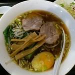 糀家 - 醤油麺580円