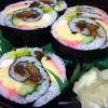 都鮨 - 料理写真:上巻きは見た目も鮮やか☆