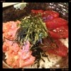 KA-TSU - 料理写真:ハーフ丼(冷凍本マグロ赤身漬け&ネギトロ)