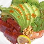 さくら亭 - マグロとアボカドのサラダ
