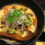 五味五香 - 黄色担々麺が一番好き