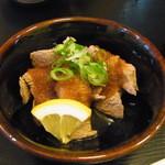 焼肉 明光苑 - ゲタカルビポン酢