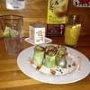 酒肴空食賊 - 料理写真:マグロとアボカドの生春巻き