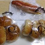 カンテボーレ - 玄米ロール3個入り:150円×2セット&明太フランス:200円