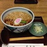 喜久屋 - たぬきうどん500円