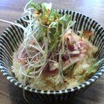 中村屋 - 焼豚のたたき飯