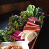 焼肉 バンザイミート - 料理写真:これが焼肉屋が考えたバーニャカウダーだ。