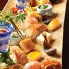 祇園ゆやま - 料理写真:焼物八寸。3名以上で訪れるとダイナミックに大皿に盛り付けることも