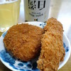 和牛専門店 牛之助 - 料理写真:ミンチカツ(150円)、牛串カツ(150円)