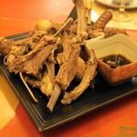 シリンゴル - チャンサンマハ(1,575円)骨付き羊肉塩茹で
