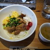 ドリームズカフェ - 料理写真:鶏の二色キジ丼