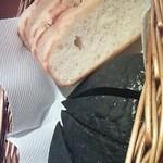 cucina Wada - イカスミ入りパン