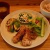 なんてんcafe - 料理写真:ランチとディナーで提供している人気の「要町定食」旬の食材にこだわっています。