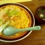 ニジコ - チャーハン☆2つ盛り☆700円(2013/3)