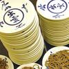 いづも - 料理写真:出石焼きの手塩皿に3口ほどのそばを盛り、5枚1組で一人前とするのが出石蕎麦の特徴です。