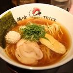Torikku - 料理写真:鶏醤油ら~めん(750円)