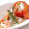グランドダージリン - 料理写真:トマトカップのシーフードサラダ★