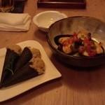 ハナビ - シーチキン、貝