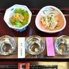うな萬 - 料理写真:利き酒セット(つまみ二品付)