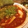 ばんかららーめん - 料理写真:台湾麺とネギ豚丼(๑´ڡ`๑) 辛さNO.1の札に惹かれてしまった(๑¯◡¯๑)