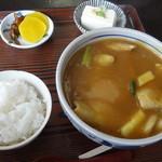 18139308 - カレーうどん定食 780円