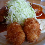 レストラン むさし - カニクリームコロッケ
