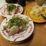 スシロー - 料理写真:焼豚ねぎまみれ
