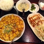 台湾料理 鴻翔 - 麻婆定食880円