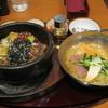 シジャン - 料理写真:石焼プルコギ+ミニ冷麺セットです。